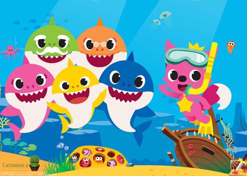 بی بی شارک - دانلود آهنگ بی بی شارک baby shark