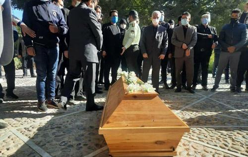 استاد شجریان - گزارشی از مراسم تدفین استاد شجریان + تصاویر