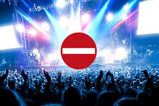 ممنوع - کنسرت ها دوباره ممنوع شد