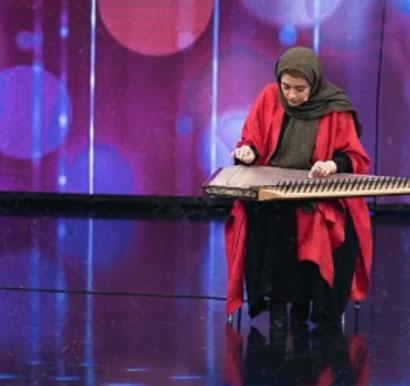 نجمالدین - یاسمین نجمالدین در برنامه شب های آهنگی سانسور شد