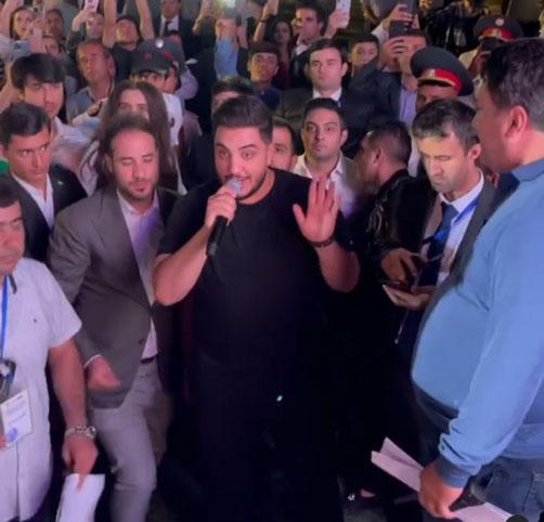 کنسرت کیش آرون افشار